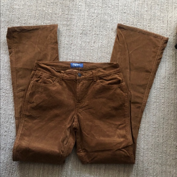 Old Navy Pants - Old Navy Mid-rise Flare Corduroy pants